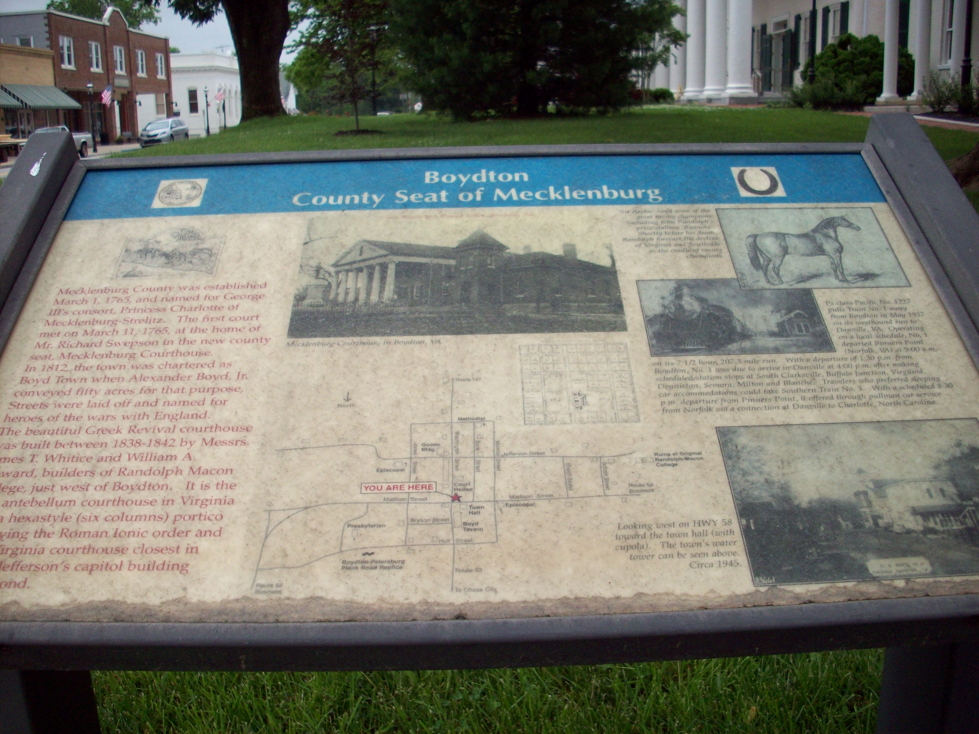 A Research Visit To The Courthouse In Boydton Mecklenburg